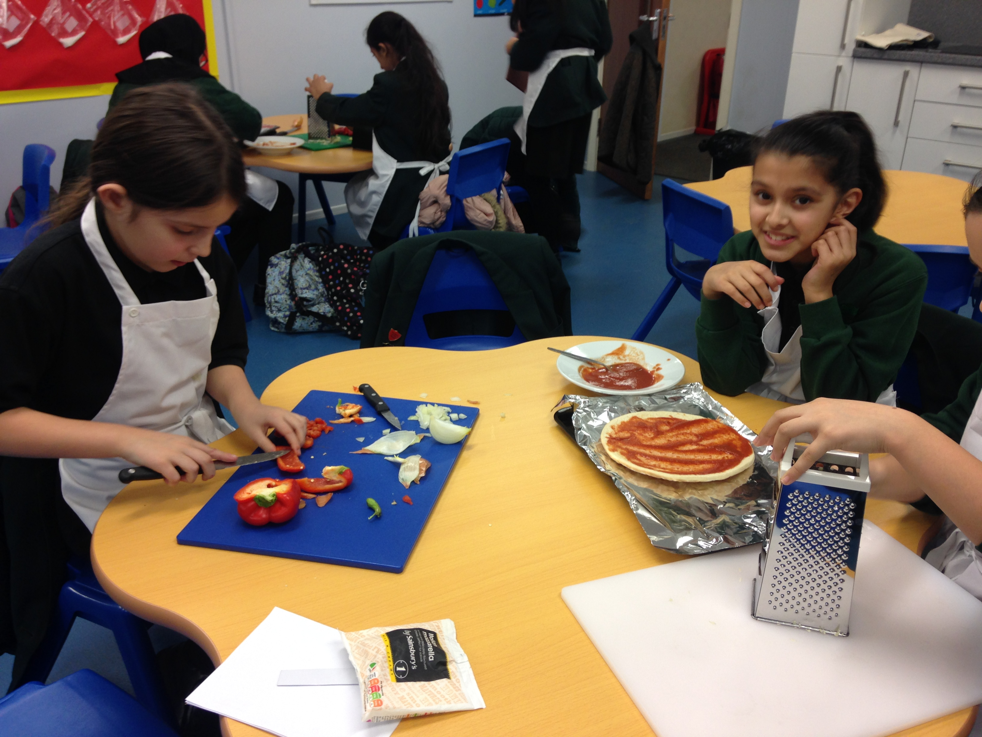 Greatfields School Cooking Club