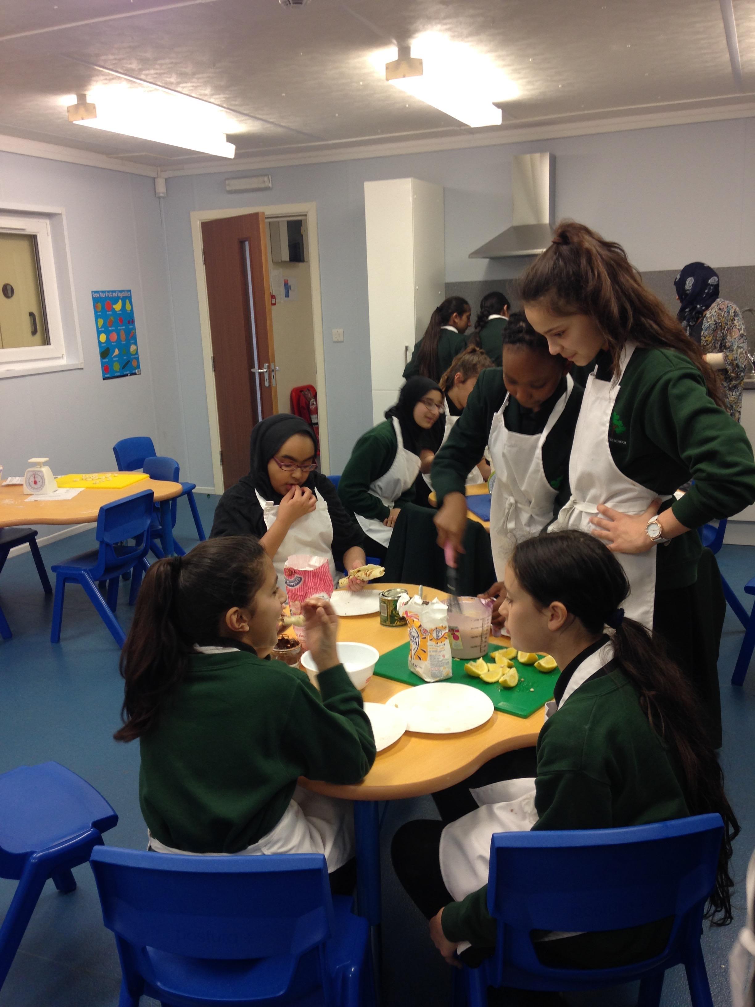 Greatfields School Shrove Tuesday